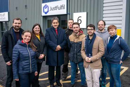 High tech start-up JustFulFil Completes Logic move and targets growth