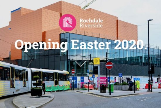 Trio of new occupiers join line up at Rochdale Riverside