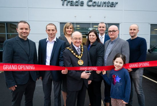 Trade Mouldings officially opens its new 75,000 sq ft distribution centre on six acre site
