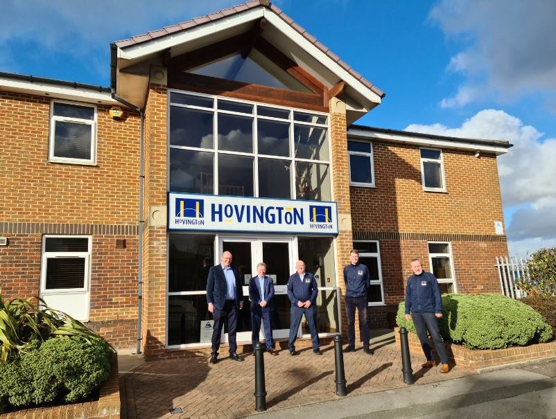 Image: Hovington announce management restructure on 40th anniversary