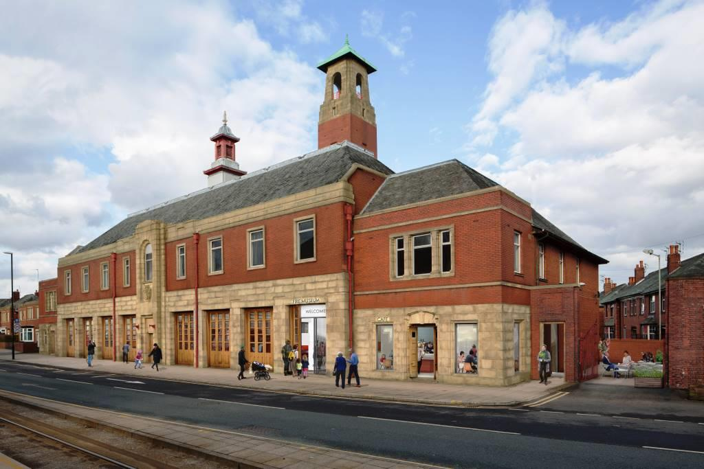 Image: Lottery gives green light for transformation of Greater Manchester Fire Service Museum