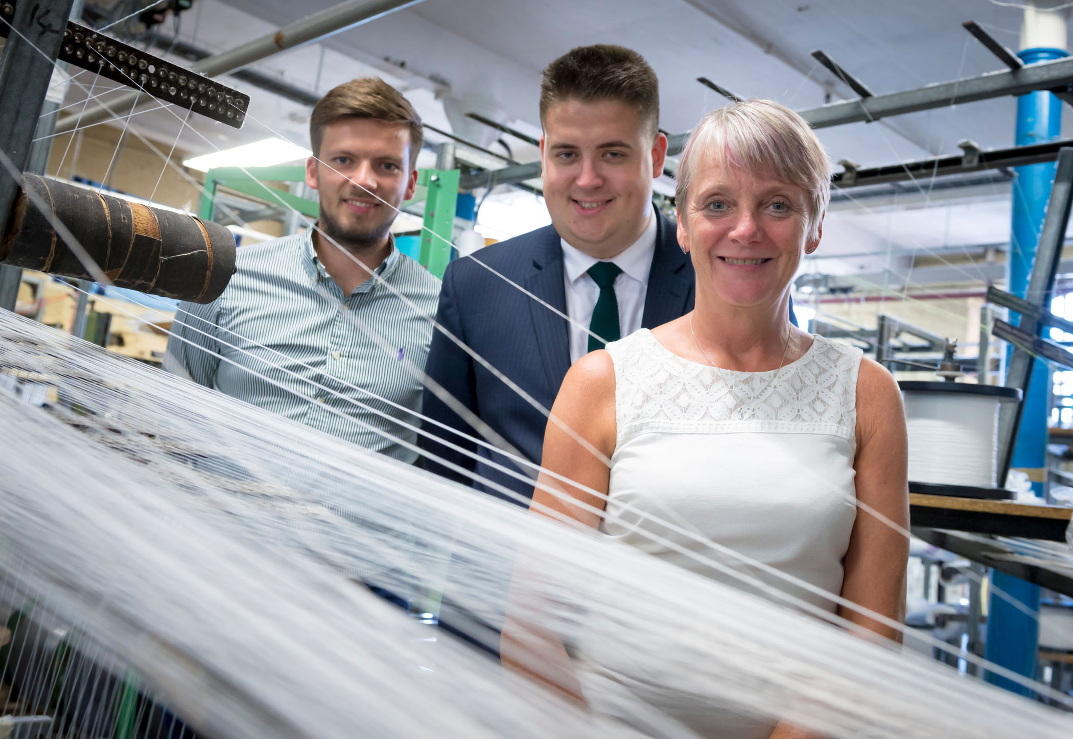 Image: Weaving a tale of success: Rochdale textile company set to expand