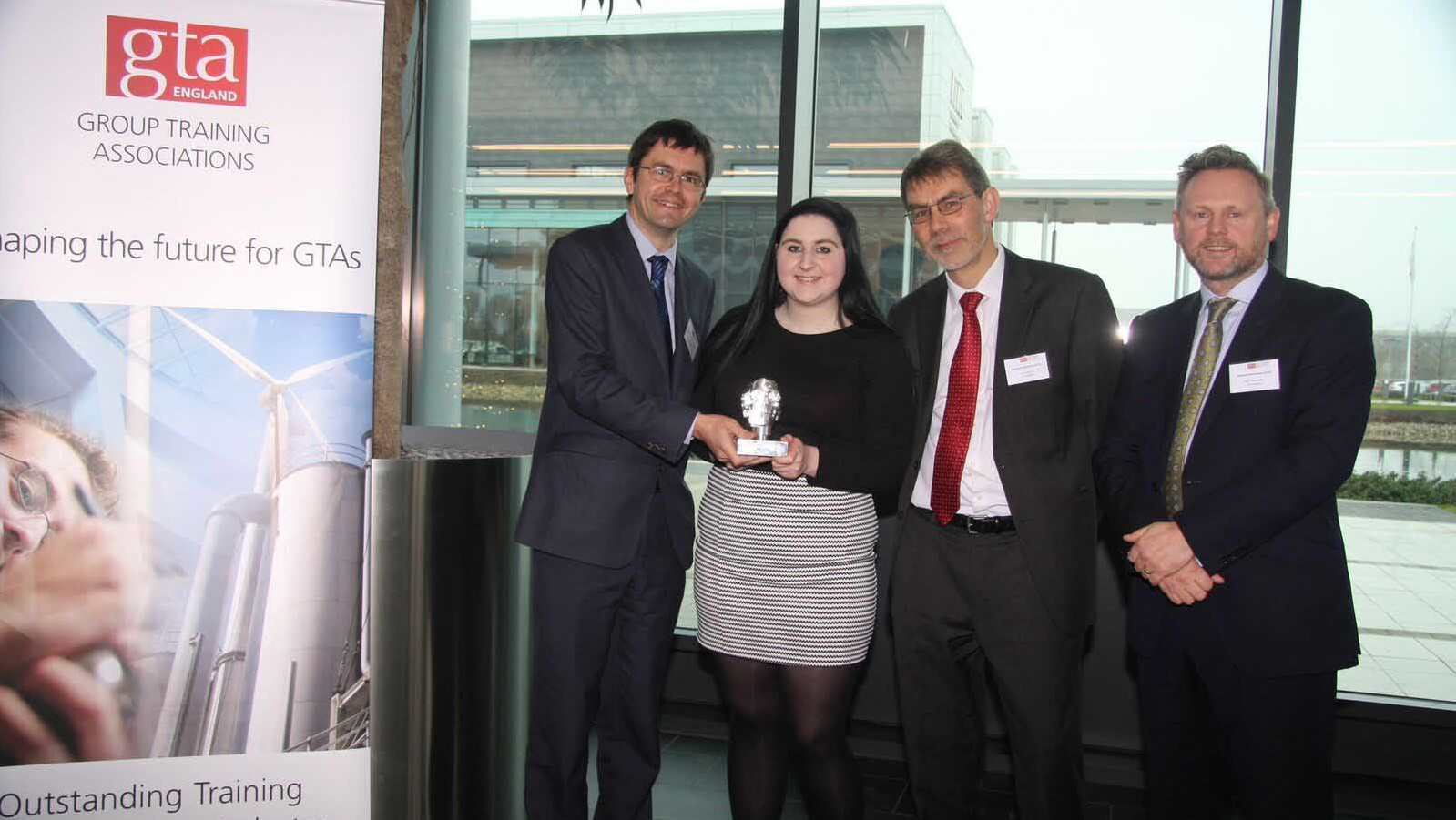 Image: TBA PROTECTIVE TECHNOLOGIES APPRENTICE WINS A HAT-TRICK OF AWARDS