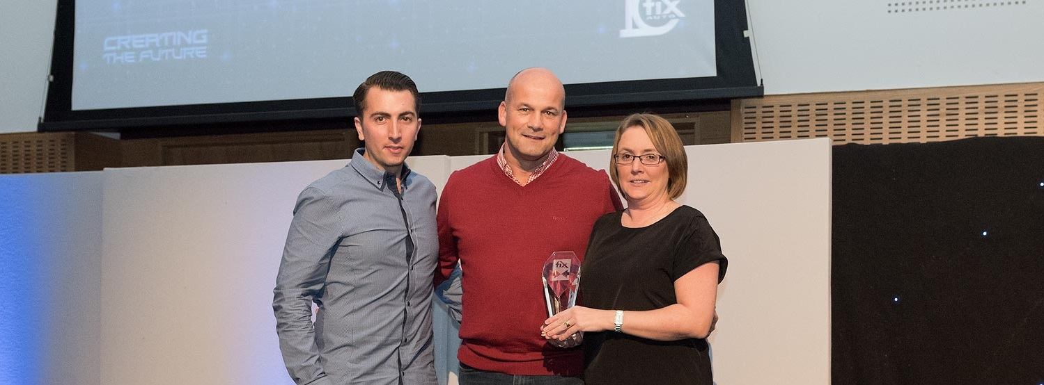 Image: Fix Auto Rochdale lifts Outstanding Customer Service Award for 2nd time in last three years!