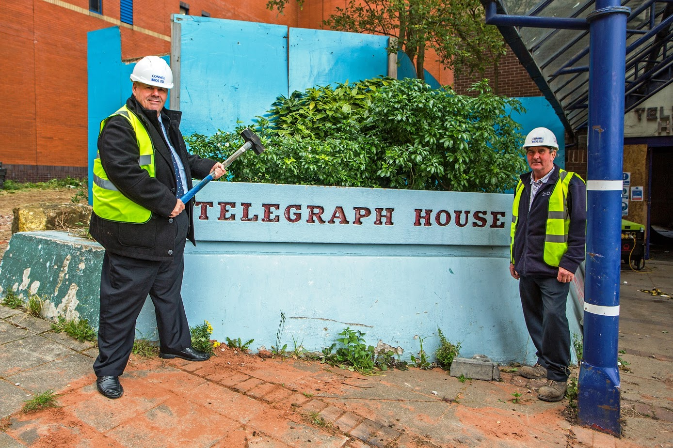 Image: Last post for Telegraph House