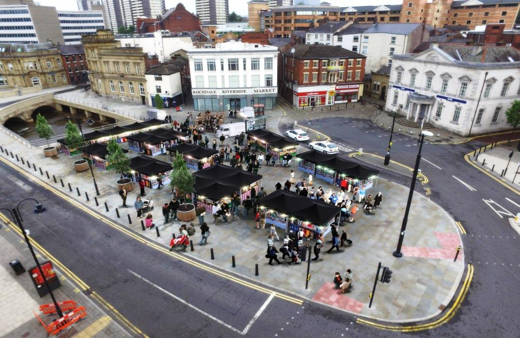 Image: New market on the way for Rochdale town centre
