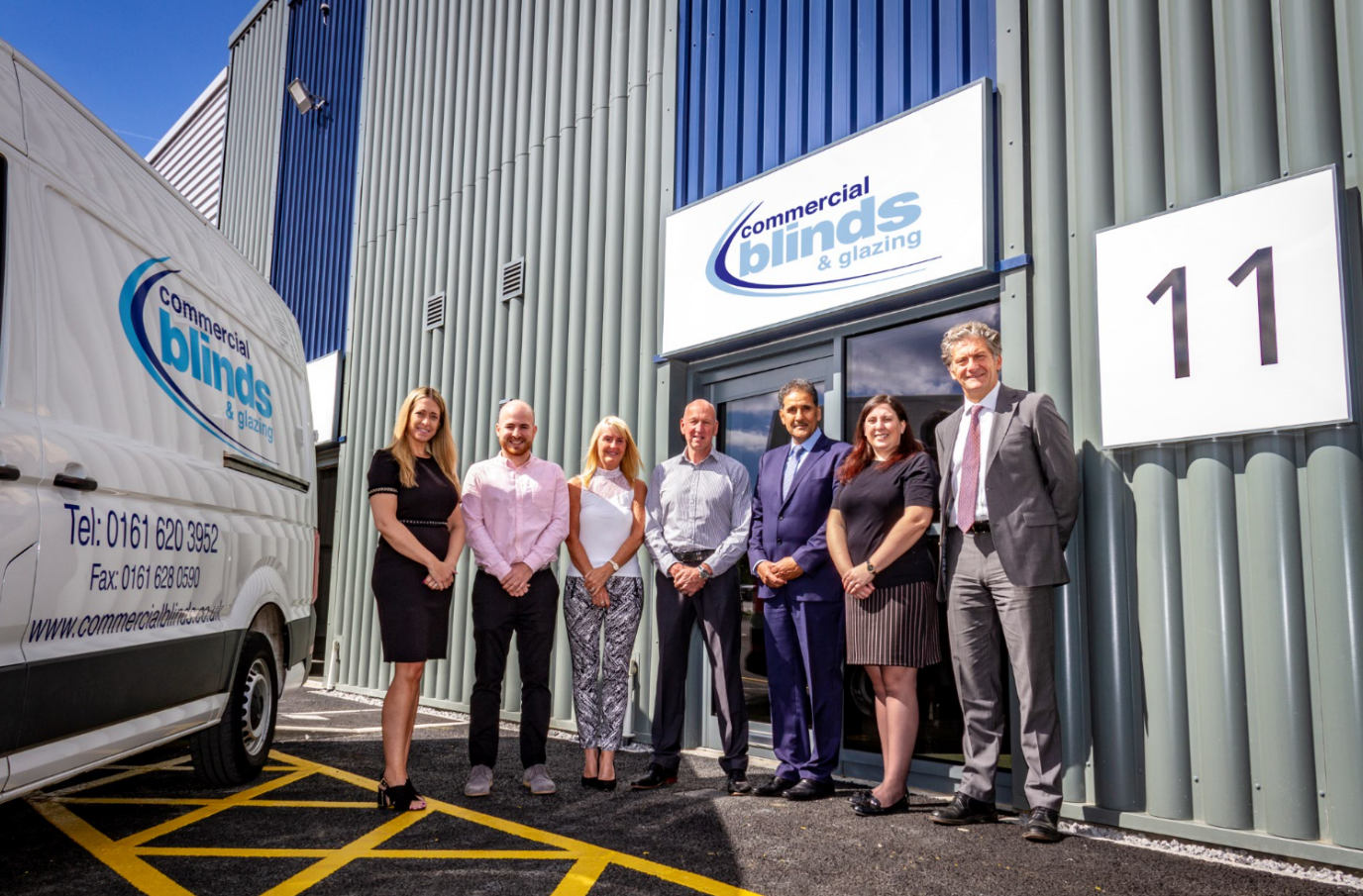 Image: Kingsway Logic welcomes Commercial Blinds and Glazing as first tenant