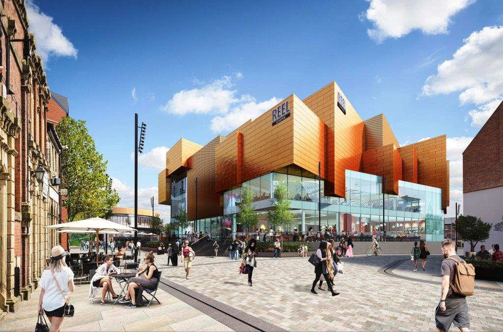 Image: Contractor appointed for Rochdale's new retail and leisure development