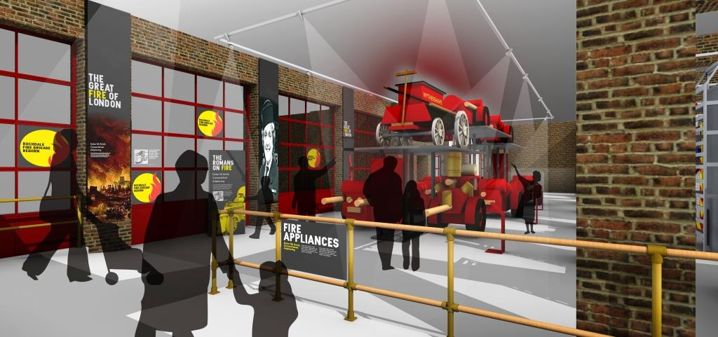 Image: Plans for the new Greater Manchester Fire Service Museum blazing ahead