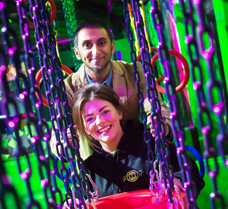 Image: Flipping great: New £1m trampoline park gives Rochdale's entertainment scene extra bounce