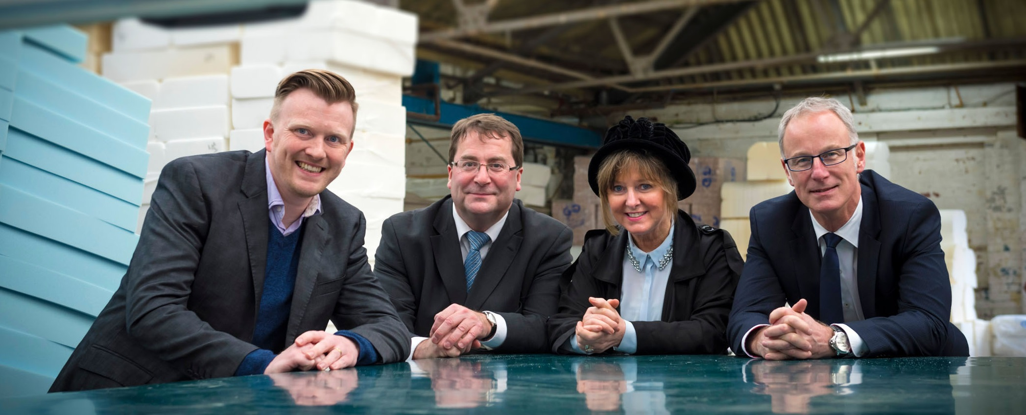 Image: £700,000 investment at GNG Foam Converters brings new orders and job opportunities to Rochdale