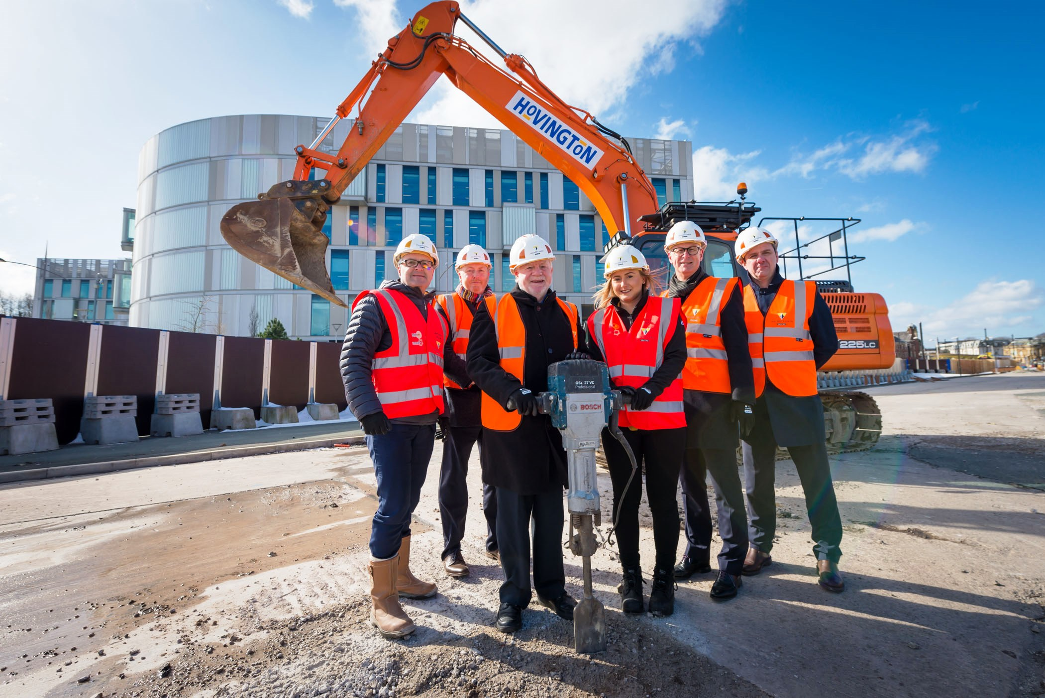 Image: Work starts on new shopping and leisure complex Rochdale Riverside