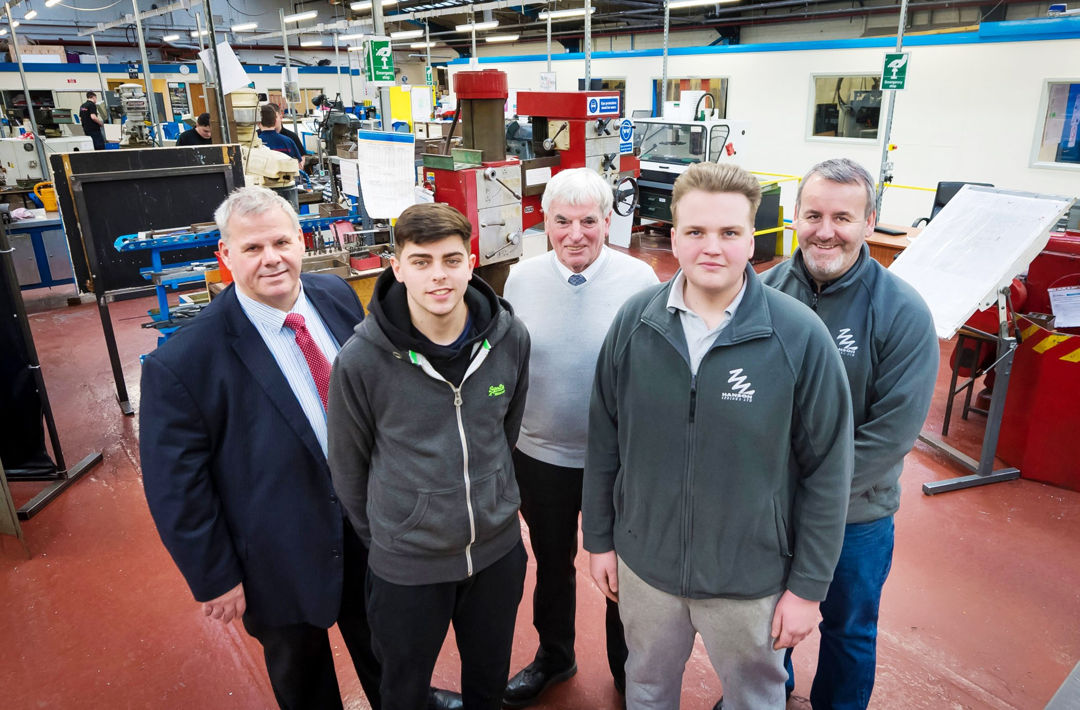 Image: Young apprentices engineer better future with council scheme