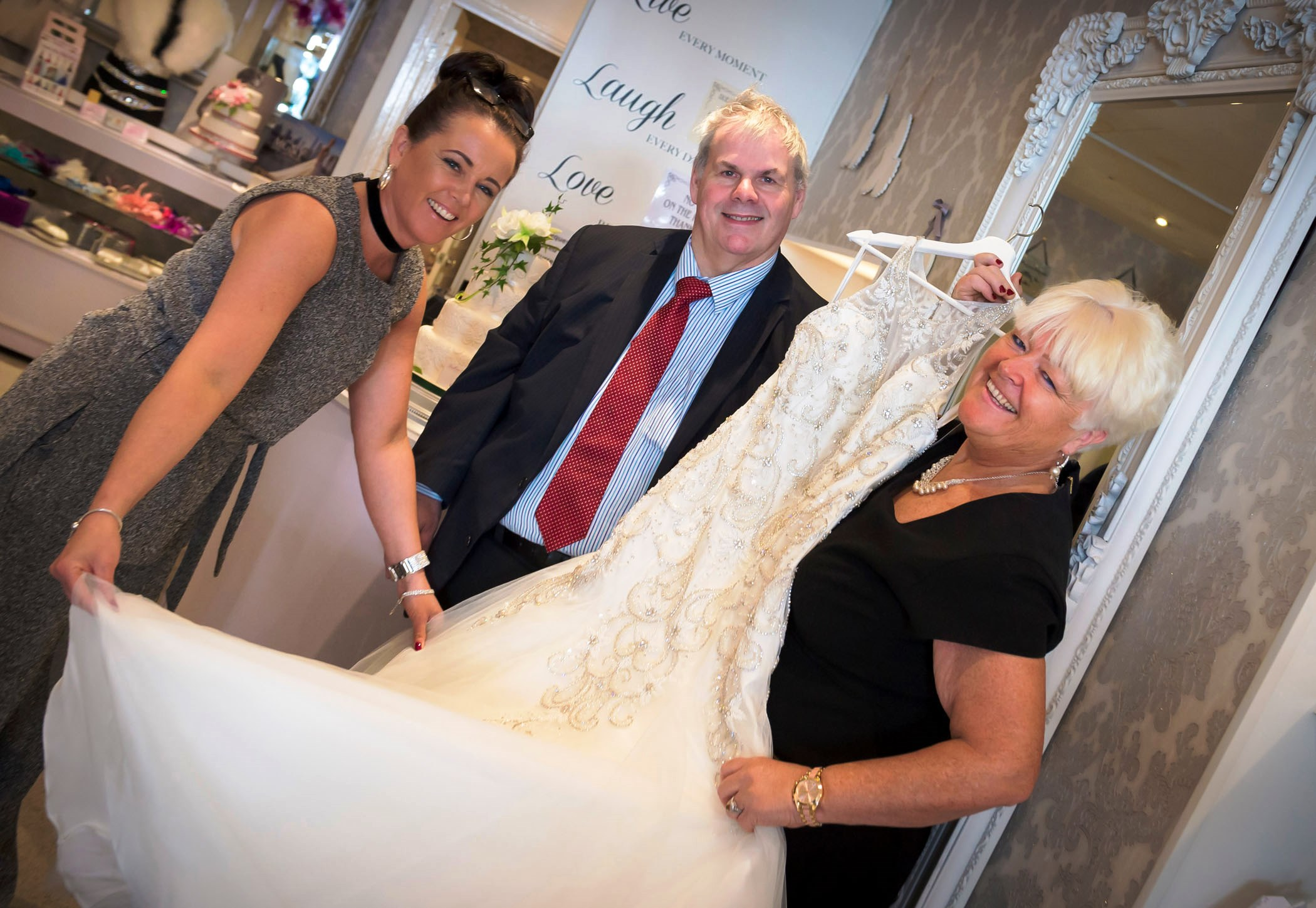 Image: Heywood bridal boutique says 'I do' to council's business rates sale