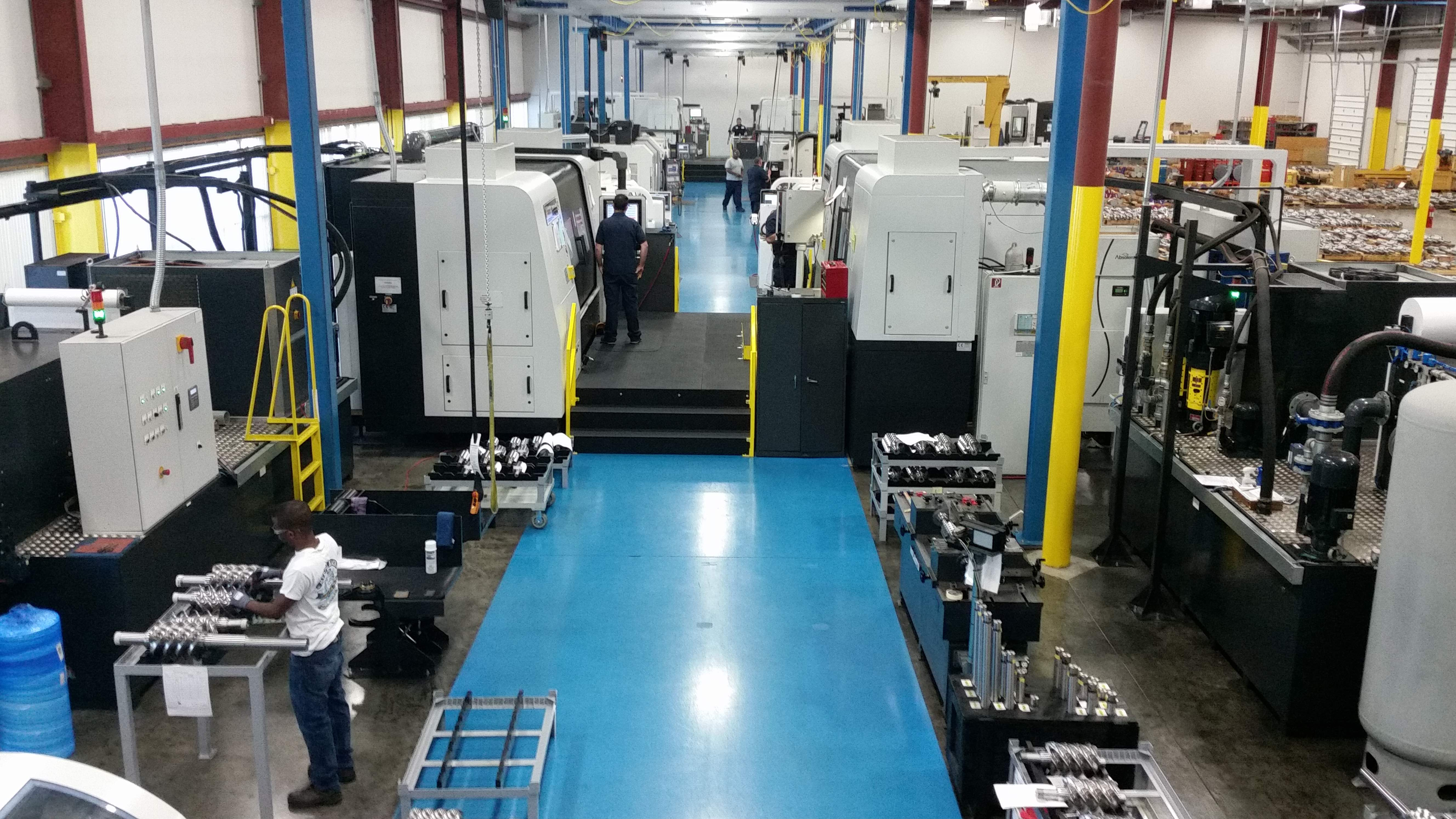 Image: Holroyd opens a specialist rotor manufacturing cell  In South Carolina, USA