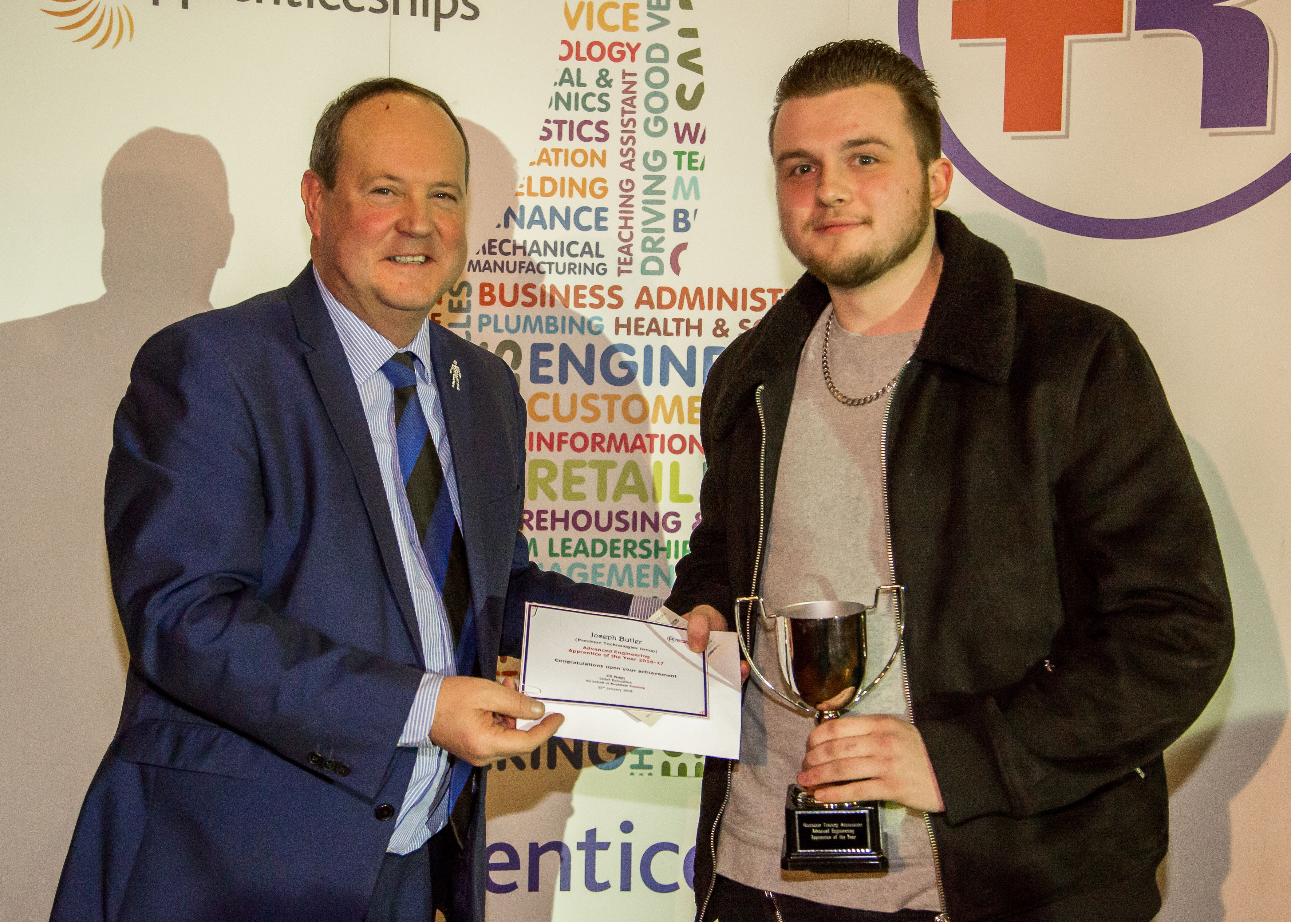 Image: Advanced Engineering Award For Holroyd Apprentice