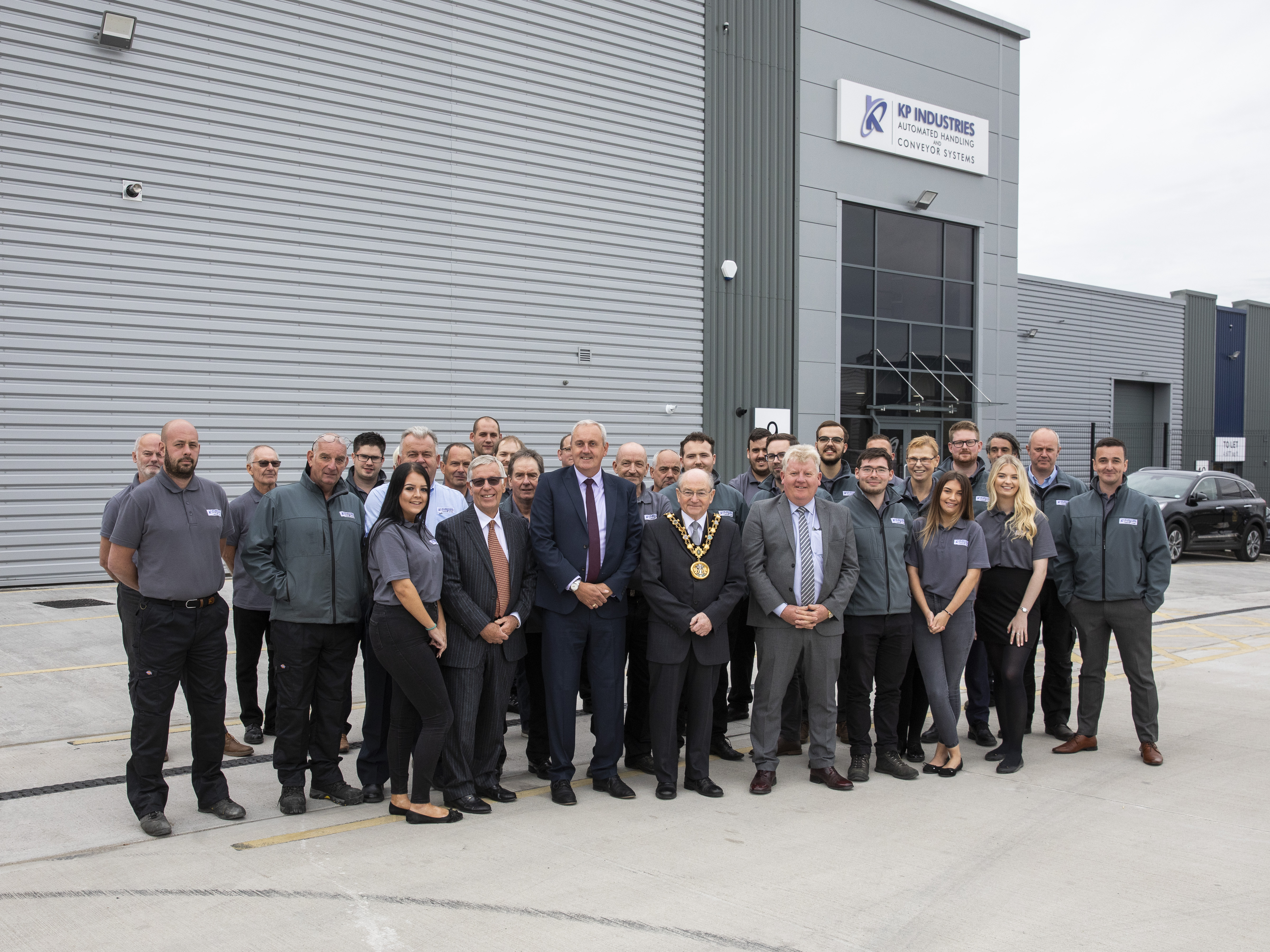 Image: KP Industries move to Logic at Kingsway Business Park