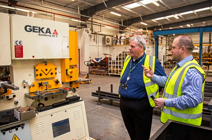 Image: Local fire protection company realises burning ambition to bring manufacturing back to Rochdale