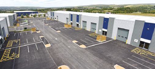 Image: Work completes on Logic, the latest phase at Kingsway Business Park