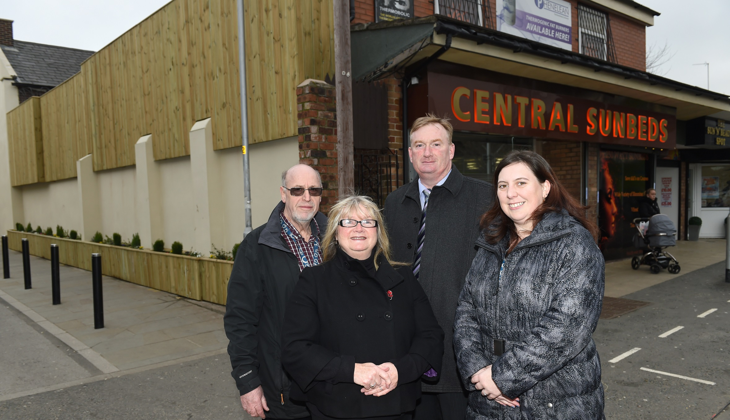 Image: On the front foot! New Middleton scheme boosts shop facades