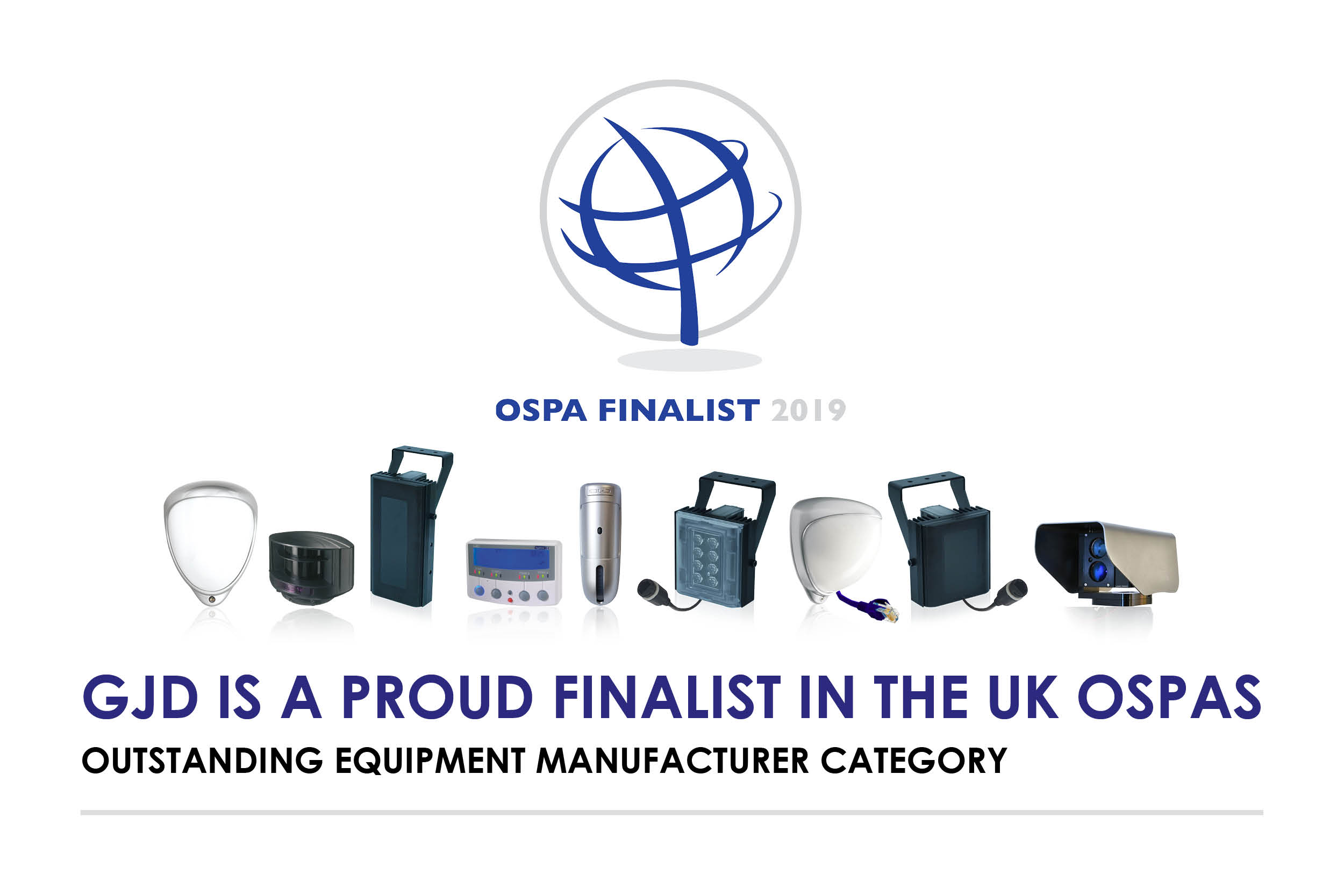Image: GJD shortlisted for UK OSPA 2019 Award