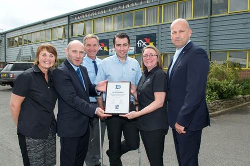 Image: Fix Auto Rochdale's celebrates a decade in the network