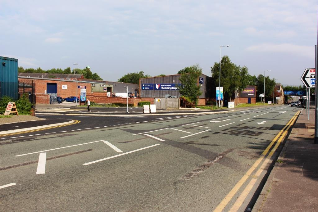 Image: On the right track: new Rochdale link road boosts train station access