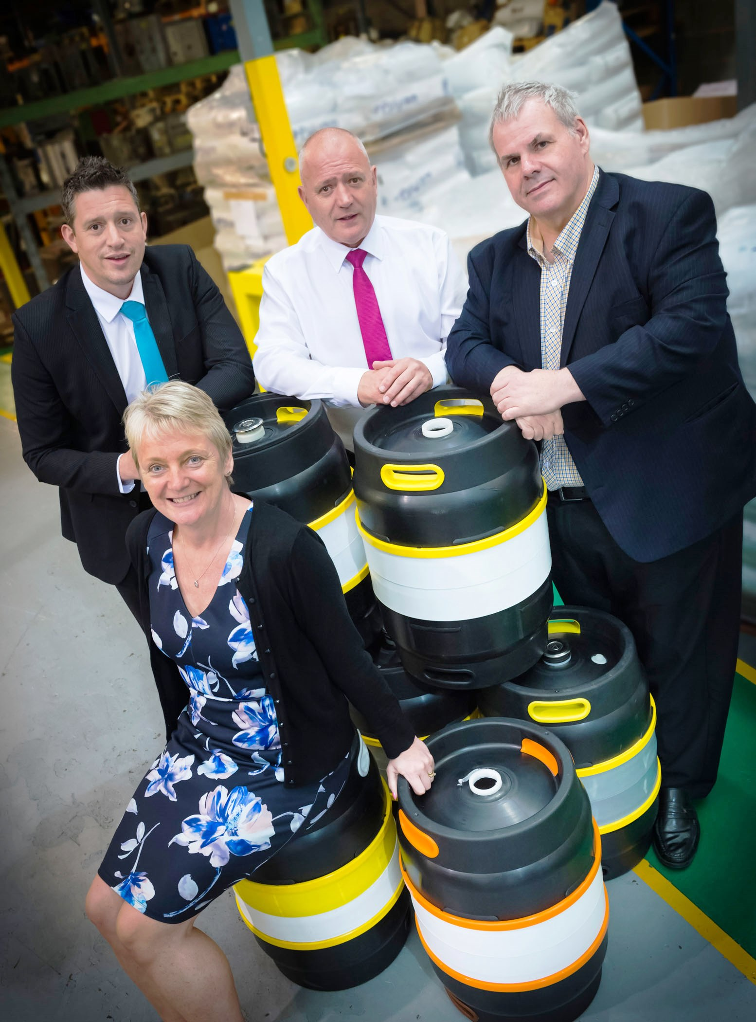 Image: Cheers to that! Rochdale company invents first ever reusable plastic beer keg