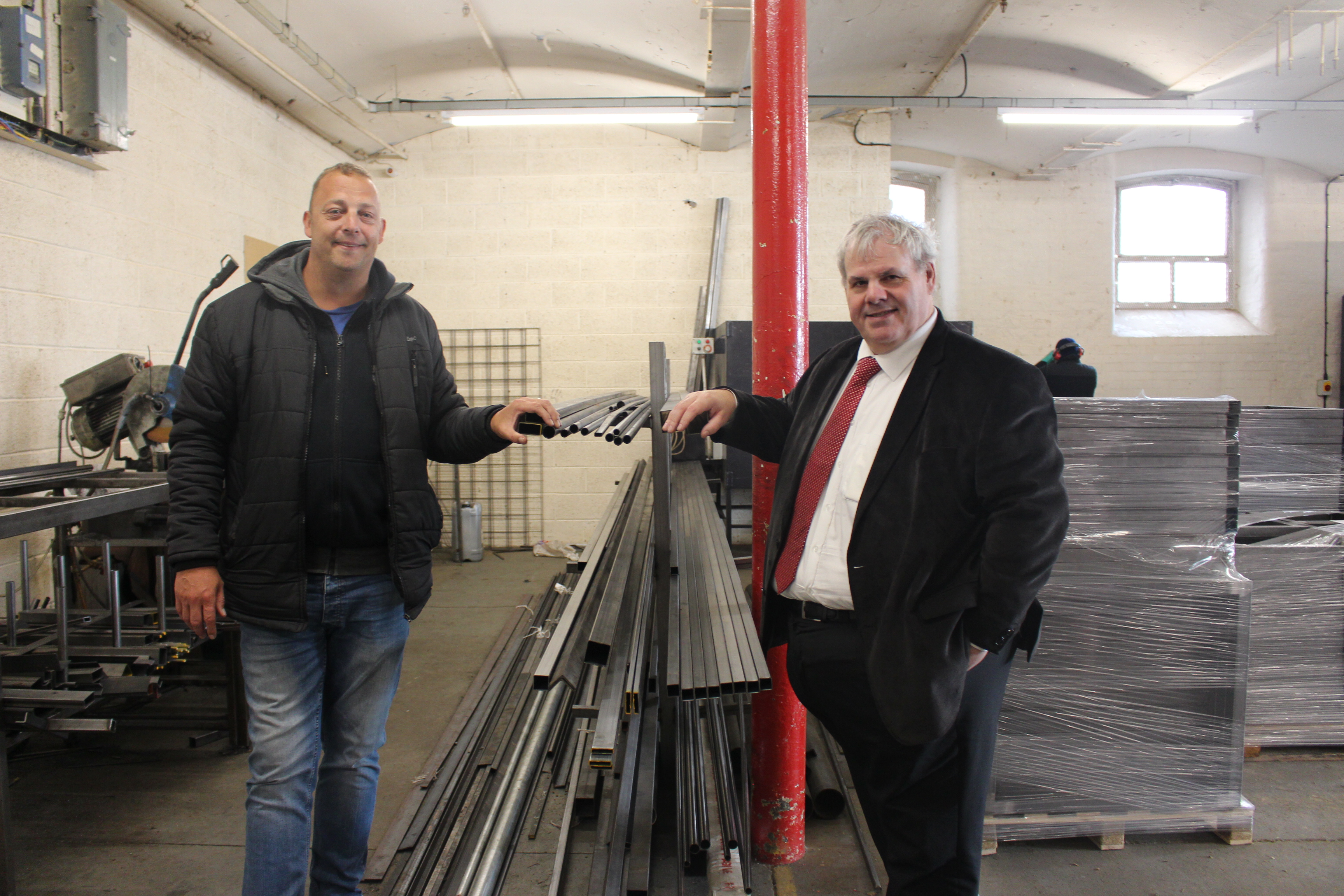 Image: Rochdale Metal Fabrication company fashions up new base