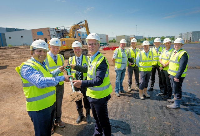 Image: Expansion scheme at Kingsway Business Park
