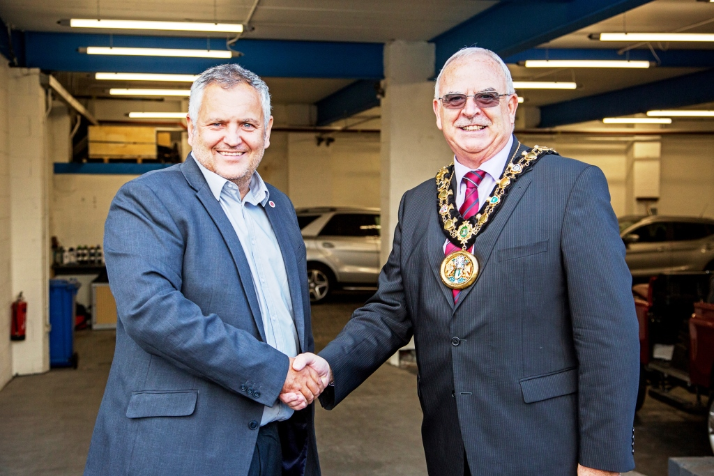 Image: Rochdale company steps up a gear with newly-opened vehicle repair shop