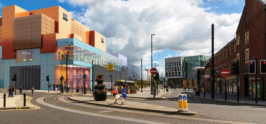 Image: Councillors approve game-changing town centre development in Rochdale