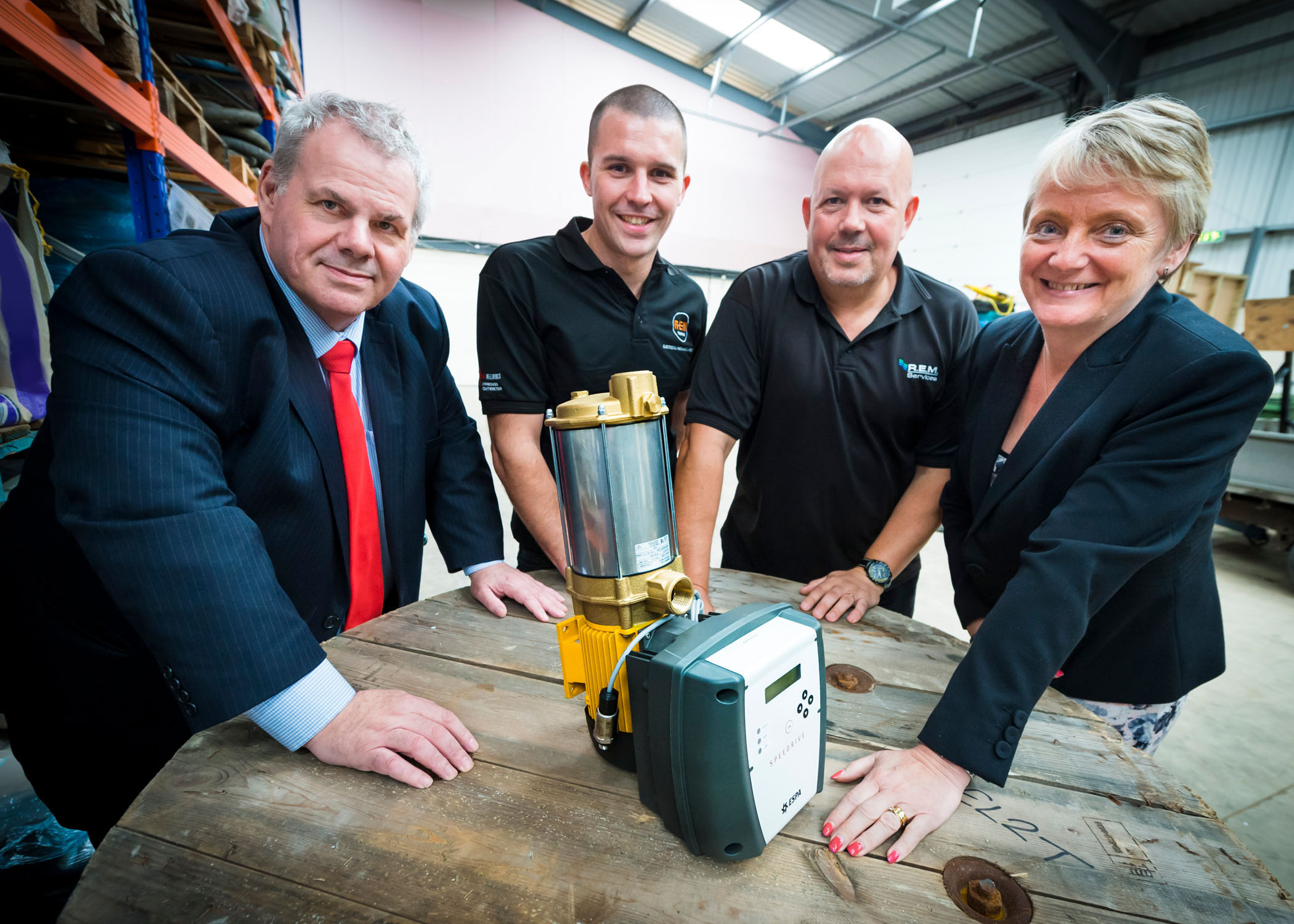 Image: Rochdale businesses work together to weather the storm