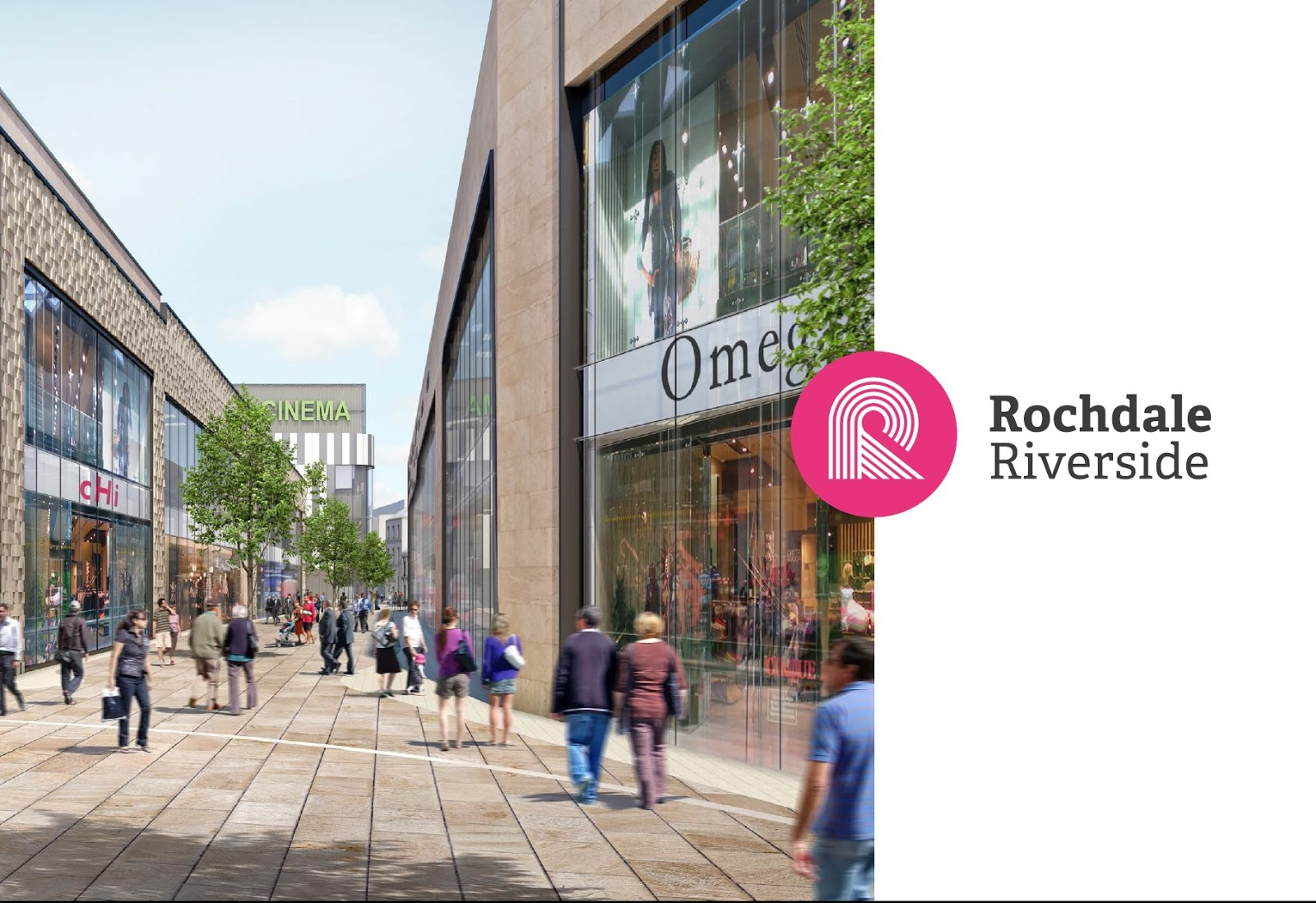 Image: The Reel Deal: cinema signs up to Rochdale's retail and leisure development