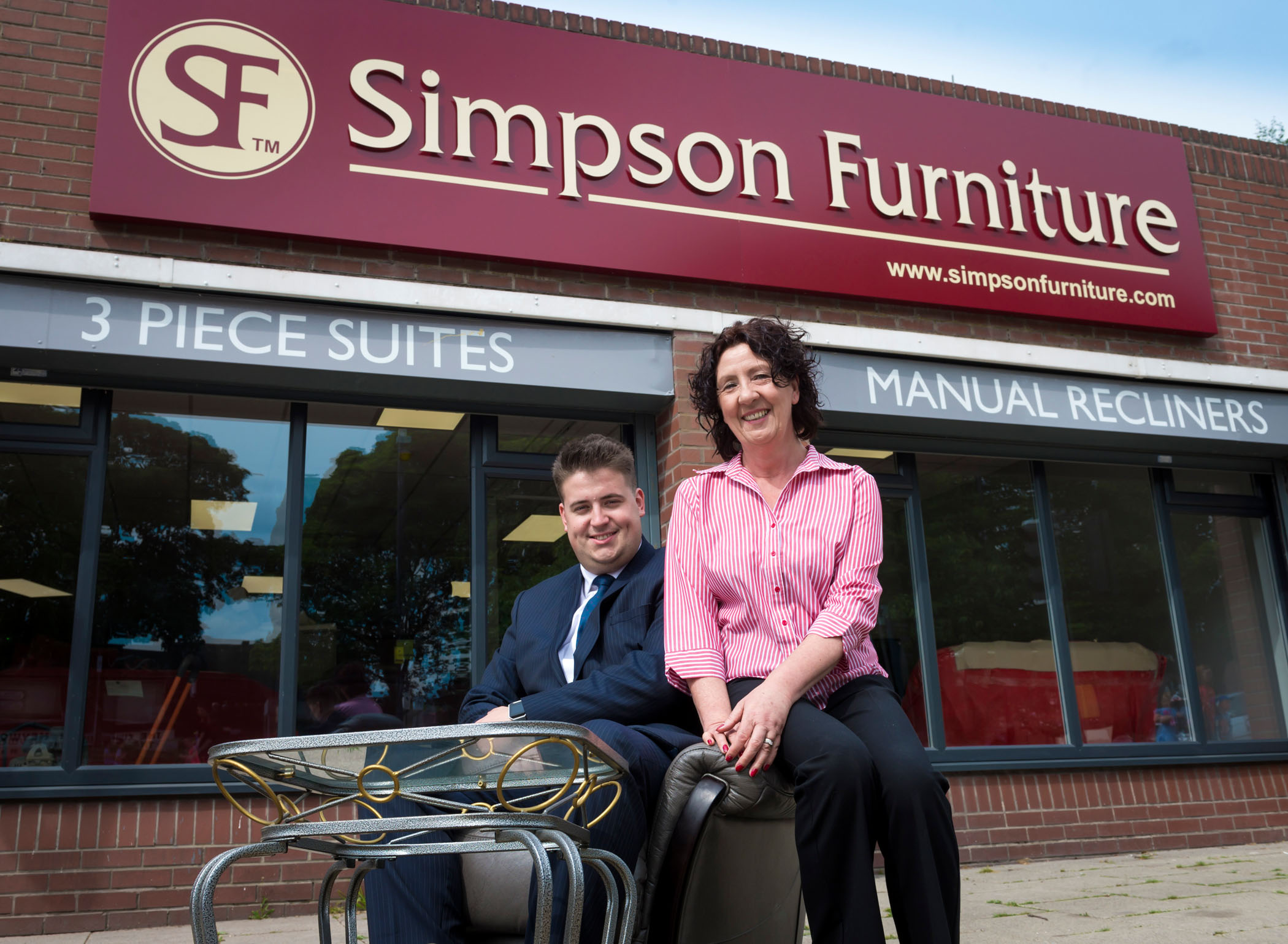 Image: Sitting pretty: new furniture store opens with council help