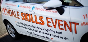 Image: Thousands of students attend Rochdale Skills Event