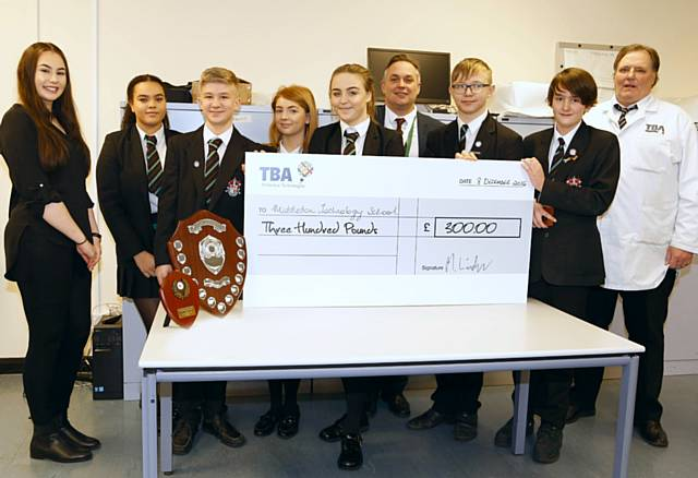 Image: TBA PROTECTIVE TECHNOLOGIES FINDS ROCHDALE'S MANUFACTURING STARS OF THE FUTURE