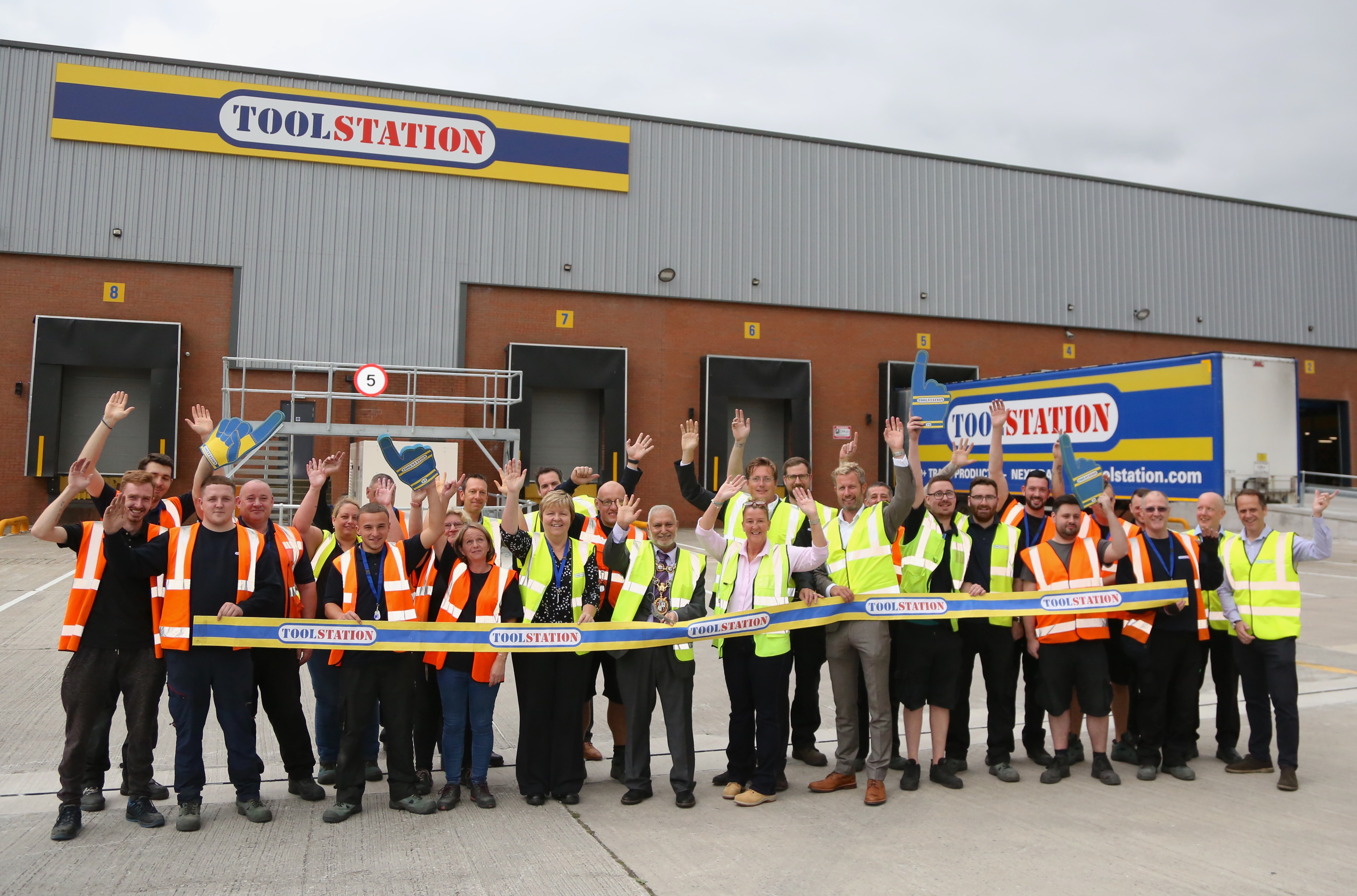 Image: Toolstation Opens its new Distribution Centre in Middleton
