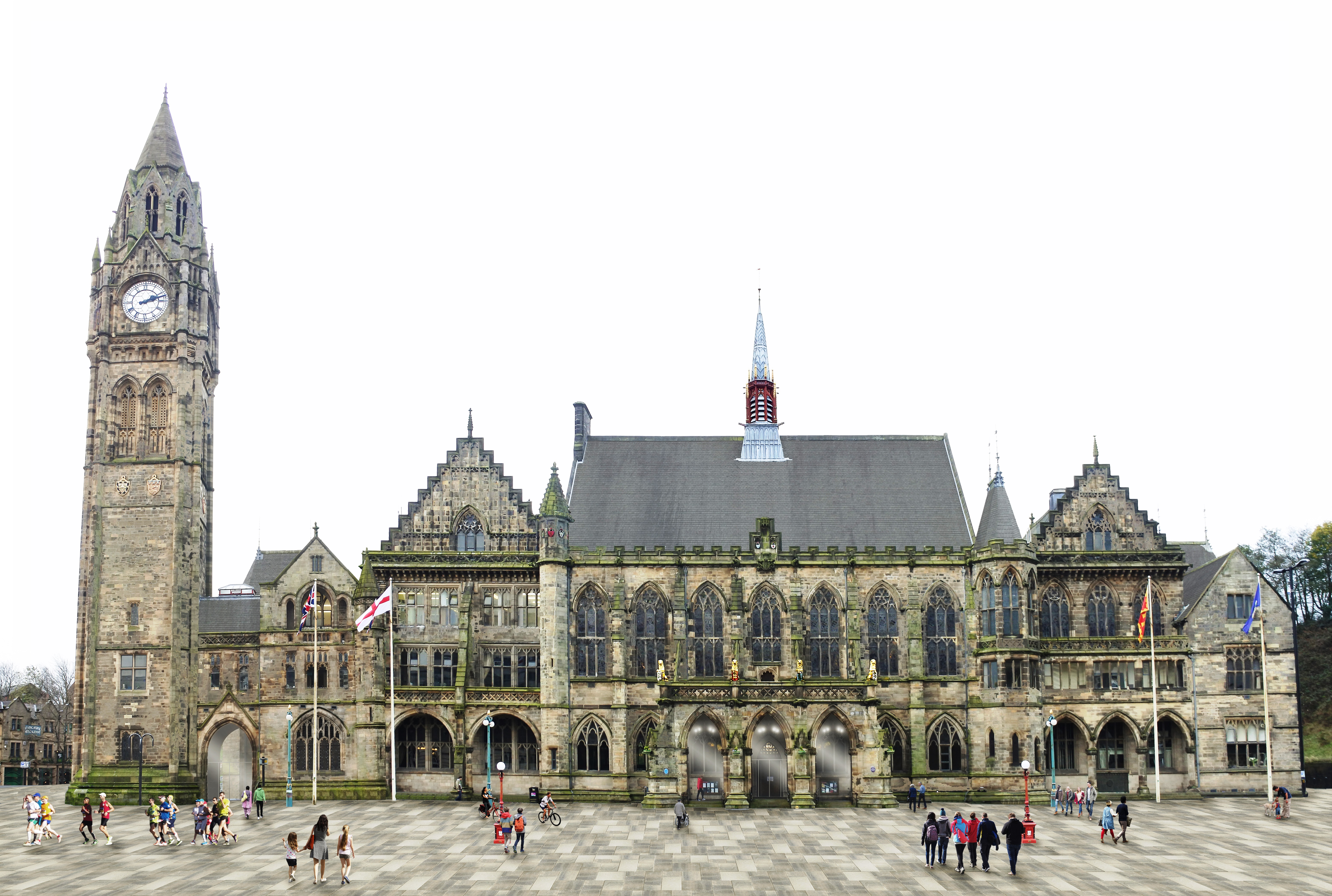 Image: Town Hall Square shaping up for £3m revamp
