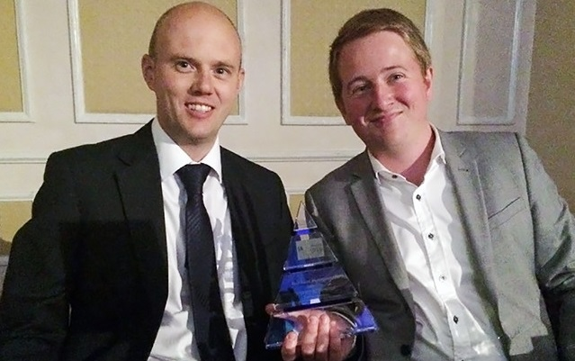 Image: WHR Property receive award for work done at Stakehill Industrial Estate