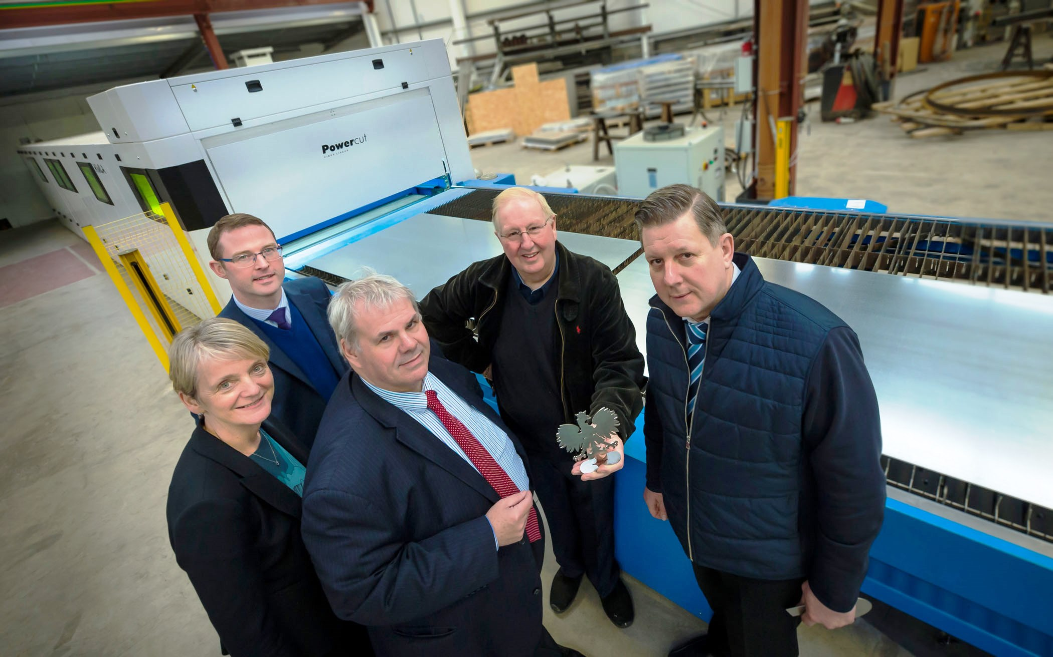 Image: Cutting edge: metal cutting company booming following council grant