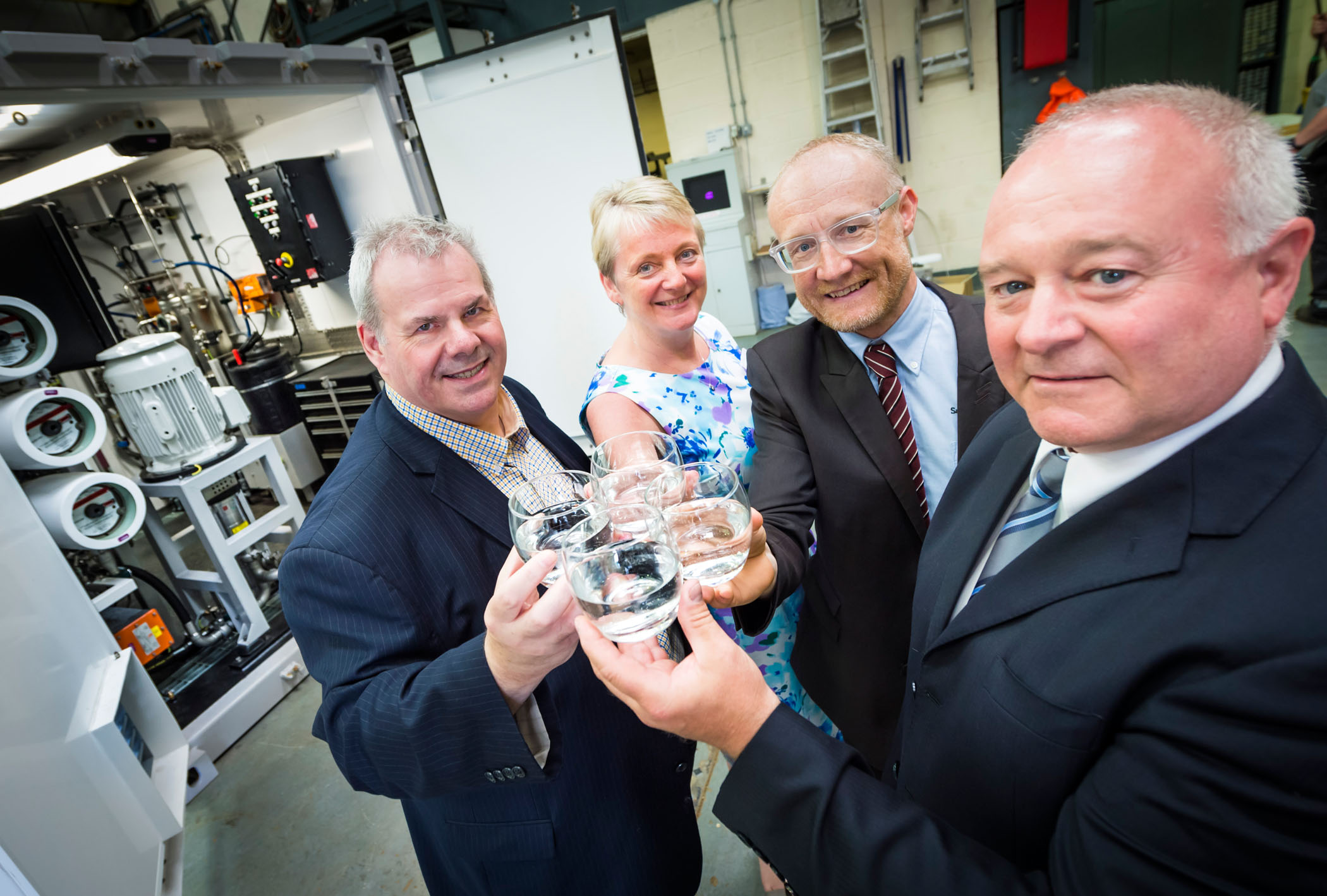 Image: Flowing along nicely: local water treatment company expands its operations in Rochdale