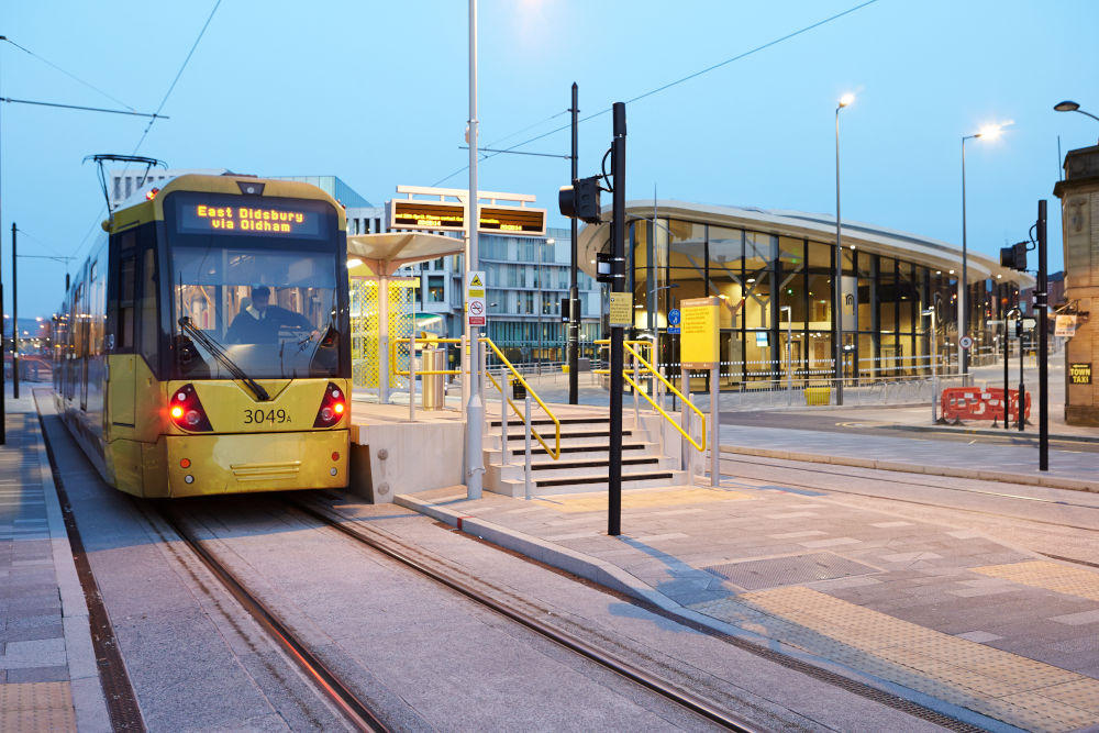 Metrolink now in Rochdale